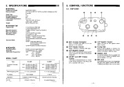 Alinco DJ-560 VHF UHF FM Radio Instruction Manual page 3