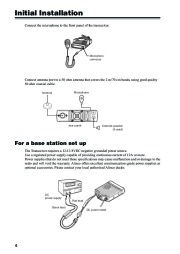 Alinco DR-620 VHF UHF FM Radio Owners Manual Owners Manual page 8