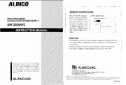 Alinco DM-330MVE VHF UHF FM Radio Instruction Owners Manual page 1
