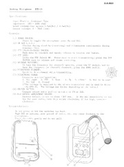 Alinco EMS 14 Radio Instruction Owners Manual page 1