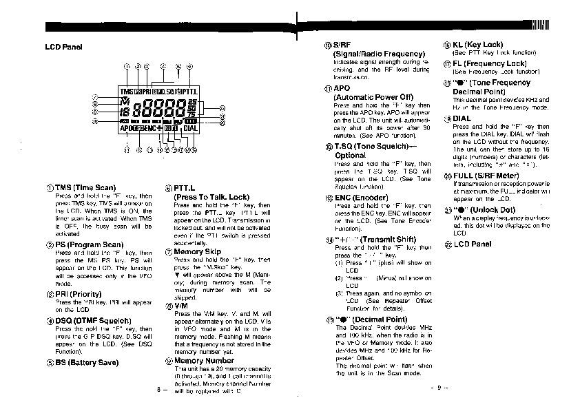 alinco dj 160 te dj 460 te vhf uhf fm radio instruction owners manual rh needmanual com Alinco DJ X2000 Alinco 1980 Hand Talky
