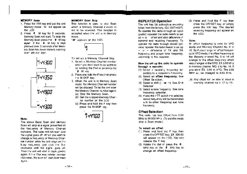 alinco dj 160 te dj 460 te vhf uhf fm radio instruction owners manual rh needmanual com Alinco DX-SR8T Alinco DJ X2000