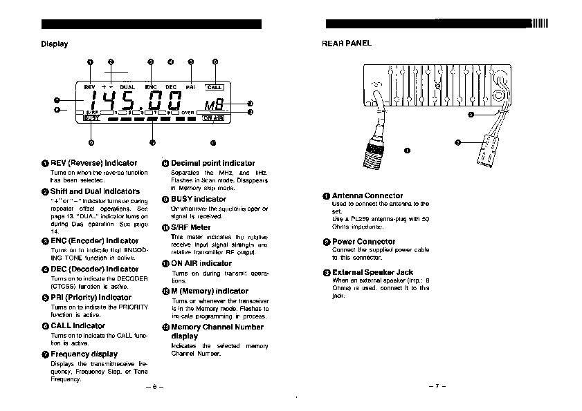 alinco dr 110 dr 112 dr 410 vhf uhf fm radio instruction manual rh consumer electronic needmanual com