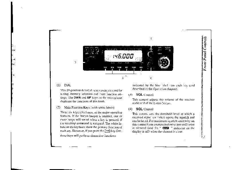 yaesu ft 2200 radio mobile transceiver microphone users guide rh consumer electronic needmanual com User Guide Template User Guide Icon