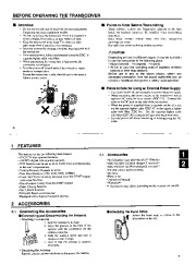 Alinco DJ-196 DJ-496 VHF UHF FM Radio Owners Manual page 4